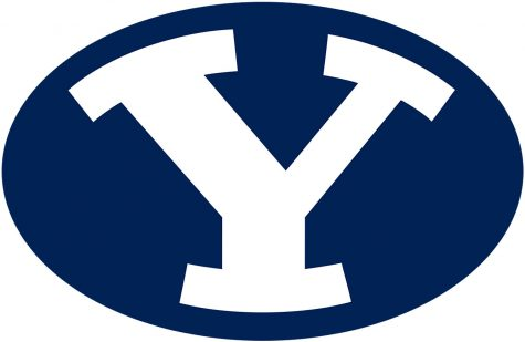 This is the logo for Brigham Young University.