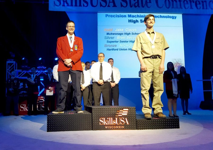Skills USA Compete at State