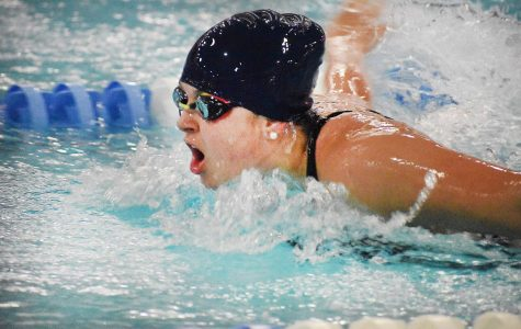 Girls Swim and Dive Pushes Back Rising Tide