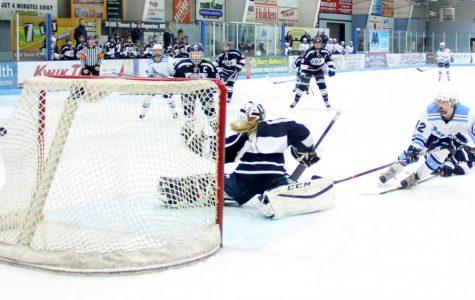 Girls' hockey loses heartbreaker in OT
