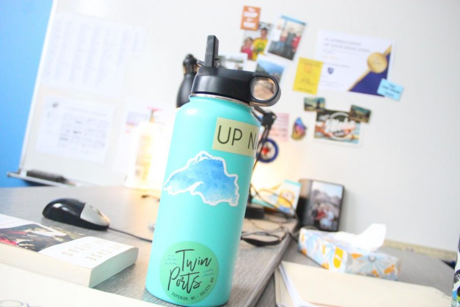 Go check out the water bottle poll