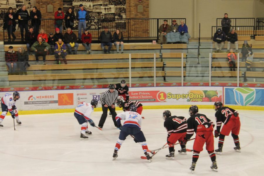 Red+the+Rink+raises+money+for+American+Heart+Association