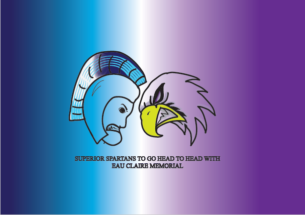 The Superior Spartans varsity football team will play Eau Claire Memorial in Eau Claire at Carson Park tonight at 7:00 p.m.