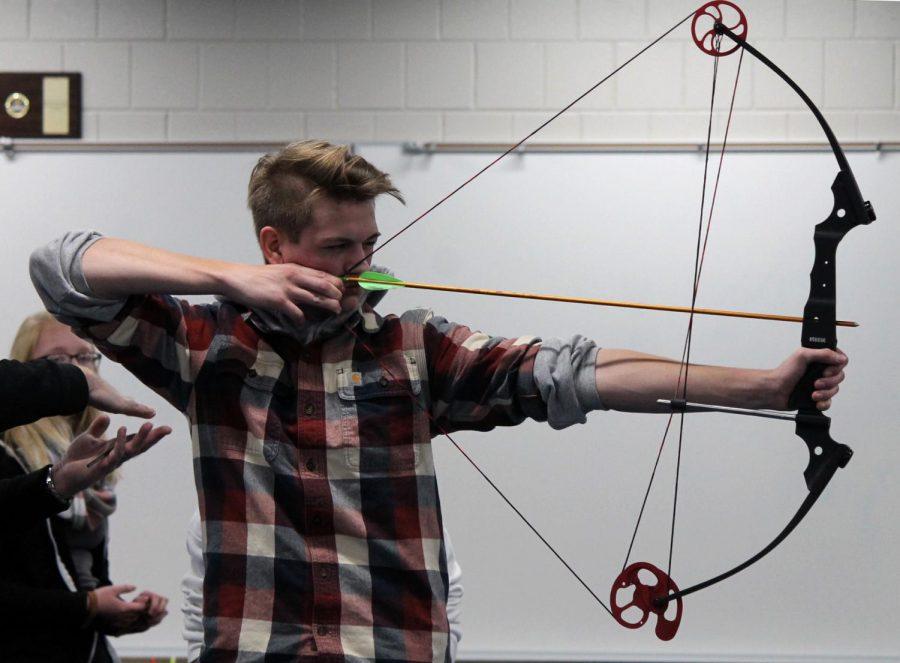 Archer shoots senior year away