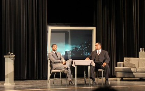 Justice is ringing: Malcolm X and Dr. Martin Luther King converse to beat prejudice and educate high schoolers
